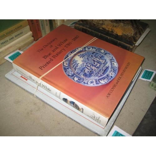 49 - Dictionary of Blue and White Printed Pottery and The Guide to Collecting Paperweights...