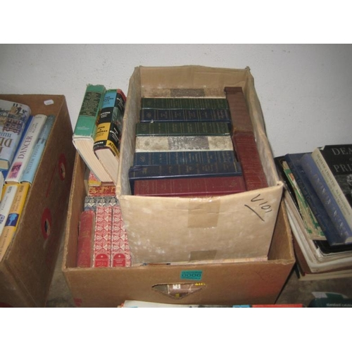 6 - 2 Boxes of Readers Digest Novels...
