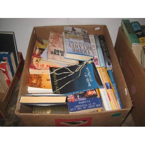 7 - Box lot of Irish Fiction Novels...