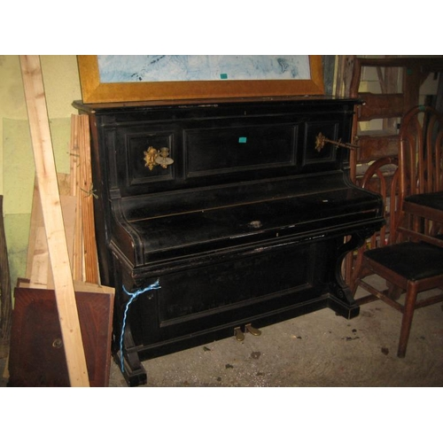 1051 - Bluthner of Leipzig Upright Overstrung Piano (needs attention)...