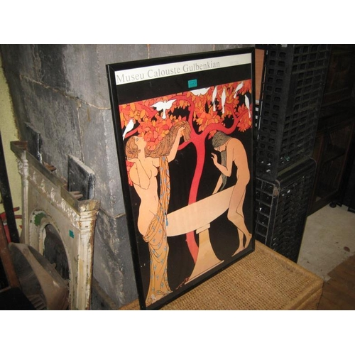 1057 - 'Museu Calouste GubenKien' Advertising Poster...