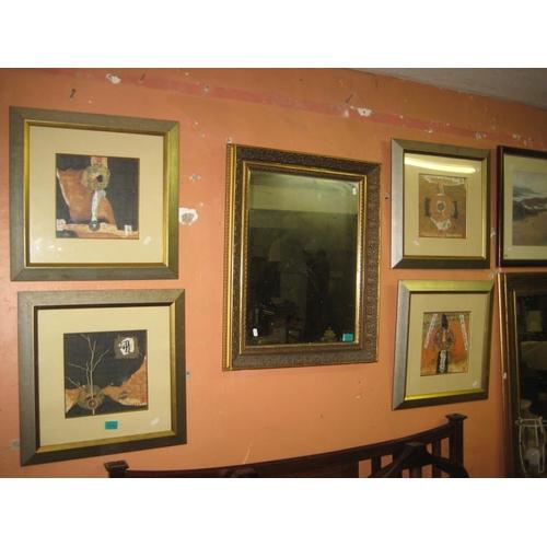 1092 - Set of 4 Gilt Framed Oriental Prints...