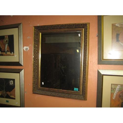 1101 - Vintage Gilt Framed Wall Mirror (78cm x 60cm)...
