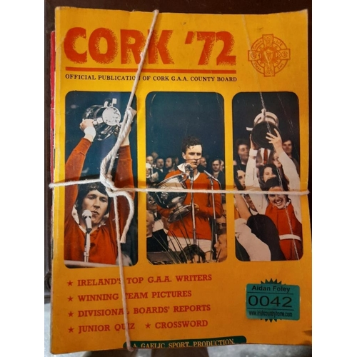 42 - Collection of Cork Gaa Annuals