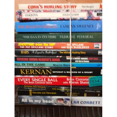 43 - Collection of GAA Books - see photo