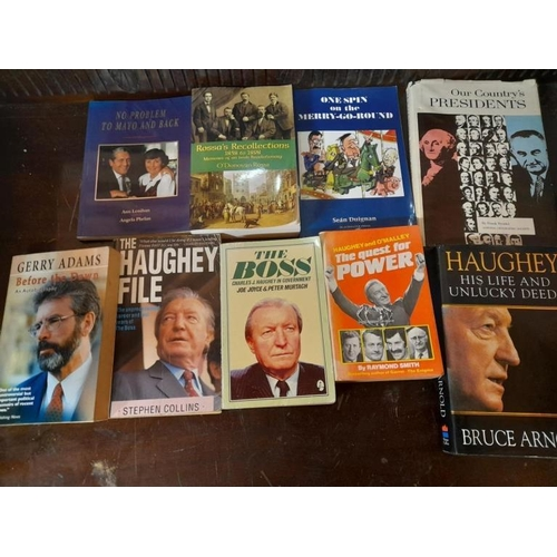 45 - Collection of Irish Political interest