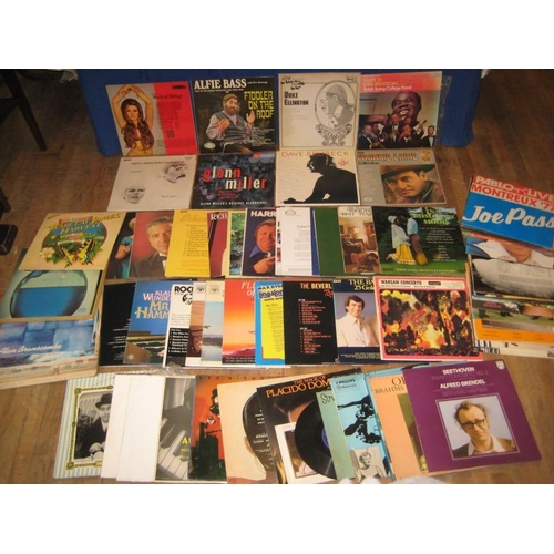 51 - Collectionof Vinyl Record Albums - Jazz, Classical etc (approx 60)