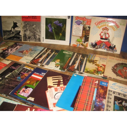 53 - Collection of Vinyl Albums - Mixed Interest (approx 45)