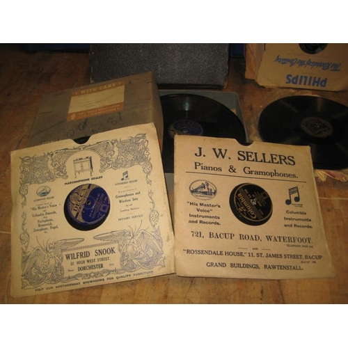 54 - Collection of Old 78's (approx 50)