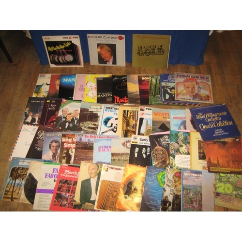 59 - Collection of Instrumental Vinyl LP's - James Galway, Bach, Herb Albert etc - (approx 50)