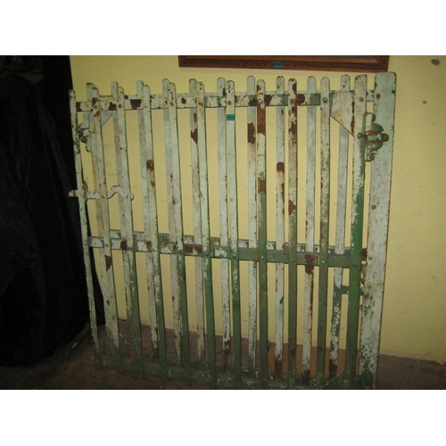 12 - Pair of Antique Forge Iron Entrance Gates