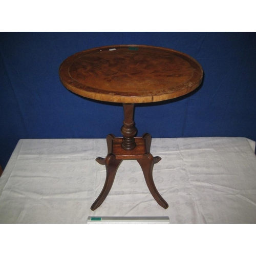 22 - Inlaid Oval Table