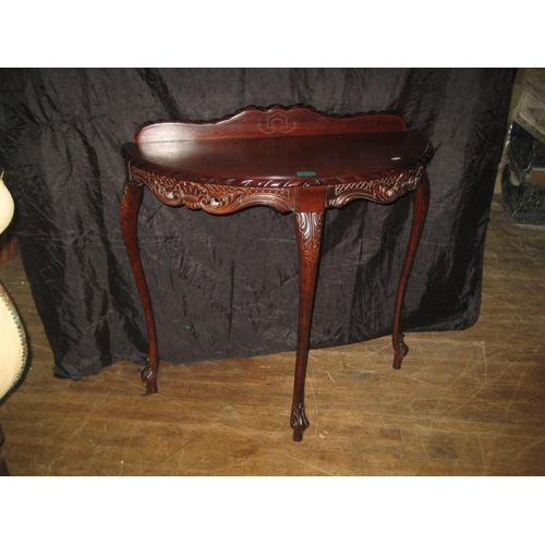 33 - 20th Century Mahogany Hall Table