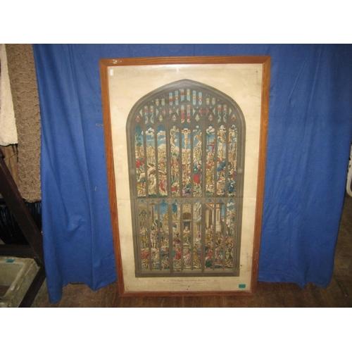 4 - Large Framed Religious Print