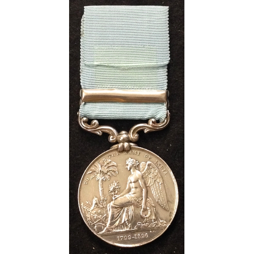 6 - <strong>Army Of India 1799-1826, clasp Ava</strong> <br /><br />To: Captn Wm Shaw, 18th N.I. <br /><...