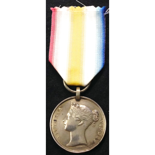8 - <strong>1st Afghan War Medal 1841-42, Cabul 1842 reverse.<br /></strong><br />To: Pte. John Stolden ...