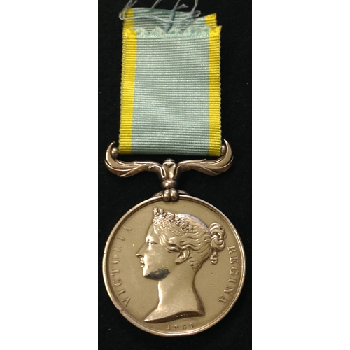 20 - <strong>Crimea 1854-56, no clasp.</strong> <br /><br />Medal un-named as issued. <br /><em>Condition...