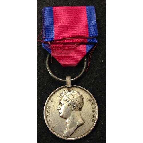 1 - <strong>Waterloo Medal - Captain Lanes F Troop.</strong><br /><br />Waterloo 1815, Robert Grey Royal...
