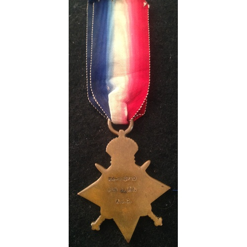 41 - <strong>1914-15 Star - Army Service Corps.</strong><br /><br />1914-15 Star, R4-063790 Pte J. law. A...