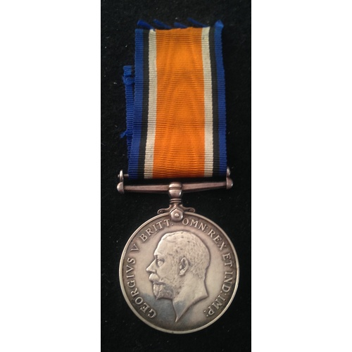 44 - <strong>British War medal - Army Service Corps.</strong><br /><br />British War medal, M-348137 Pte....