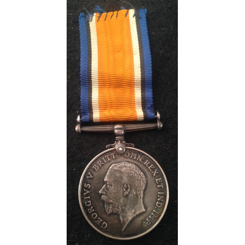 50 - <strong>British War medal - Canadian Army Service Corps.</strong><br /><br />British war medal, 5156...