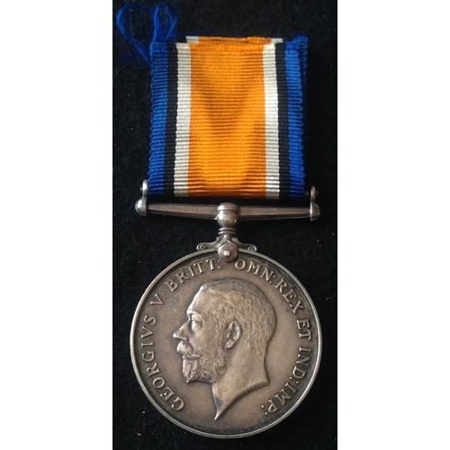 57 - <strong>British War medal - Royal Army Medical Corps.</strong><br /><br />British War medal, 21203 P...