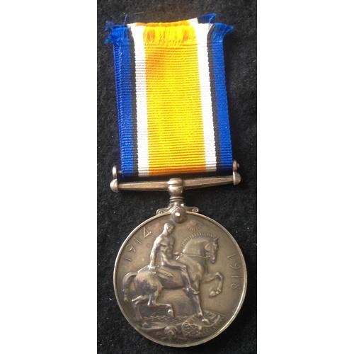 58 - <strong>British War medal - Royal Army Medical Corps.</strong><br /><br />British War medal, 120715 ...