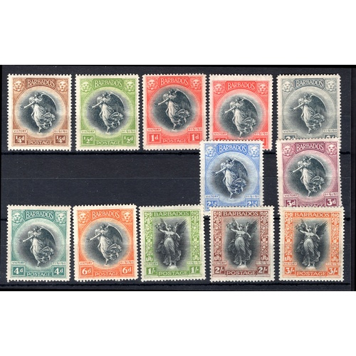 58 - <strong>Barbados</strong>, Victory, 1920, full set (SG 201-211 - Cat. £153.50), mounted mint...