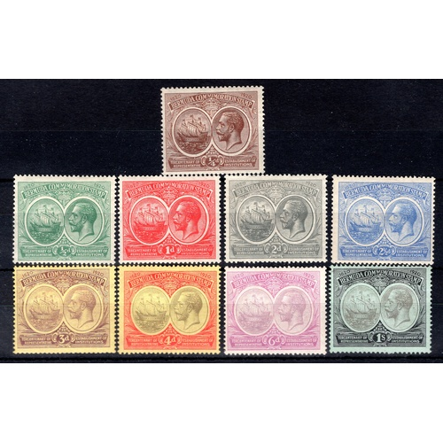 71 - <strong>Bermuda</strong>, Tercentenary of Representative Institutions, 1920, set of 9 (SG 59-64 - Ca...