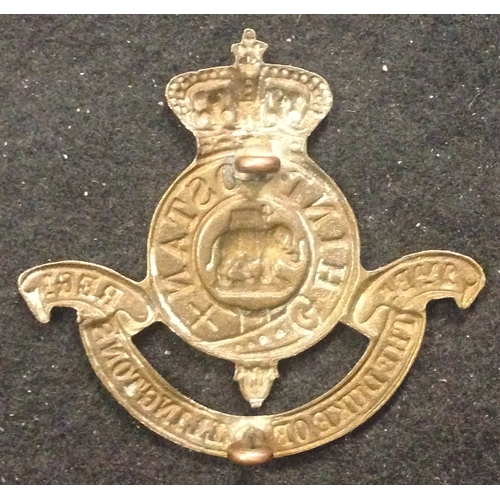 22 - <strong>2nd Battalion Duke of Wellingtons Regiment.</strong><br /><br />Officially produced badge bu...