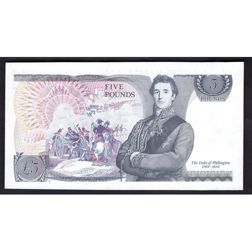 45 - Banknotes, Bank of England, Gill, £5, First Run RD01, (1988), #RD01 762049 (Dugg. 353; WPM 378f). UN...