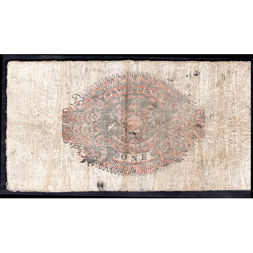 50 - Banknotes, Bristol Bullion Bank, Bristol, £1, (182)5, for, (Browne, Cavenagh, Browne & Bayly), #...