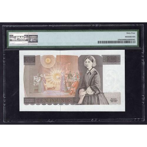 46 - Banknotes, Bank of England, Gill, £10, (1988), #EW29 508880 (Dugg.B354; WPM 379e). Several millimetr...