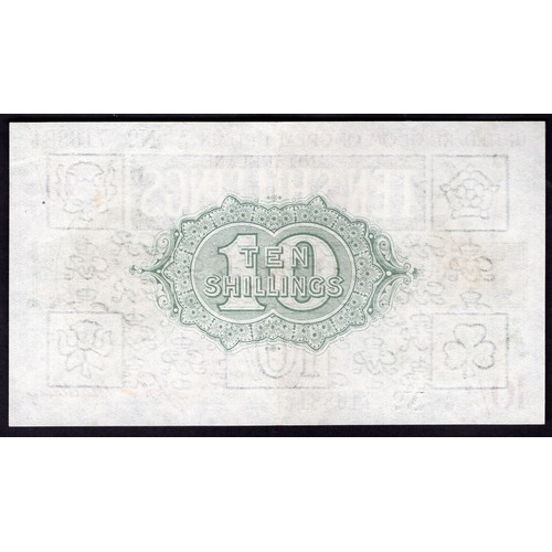 9 - Banknotes, Treasury, Bradbury, Third Issue, 10 shillings, (1918), #A/15 716881 (Dugg. T18; WPM 350a)...
