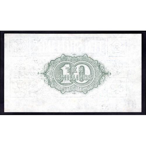 8 - Banknotes, Treasury, Bradbury, Third Issue, 10 shillings, (1918), #A/7 354813 (Dugg. T18; WPM 350a)....