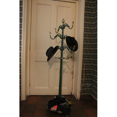 9 - Cast Iron Hat Stand. 1550mmH...