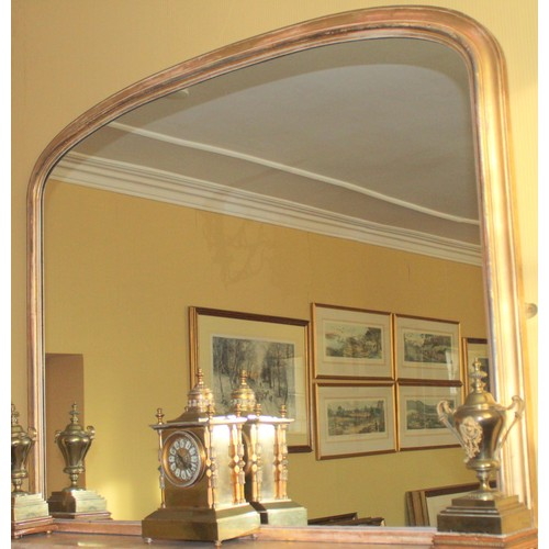 29 - Large Overmantle Mirror. 1350mmW x 1350mmH...