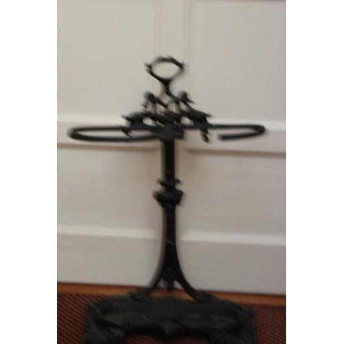 44 - Cast Iron Stick Stand....