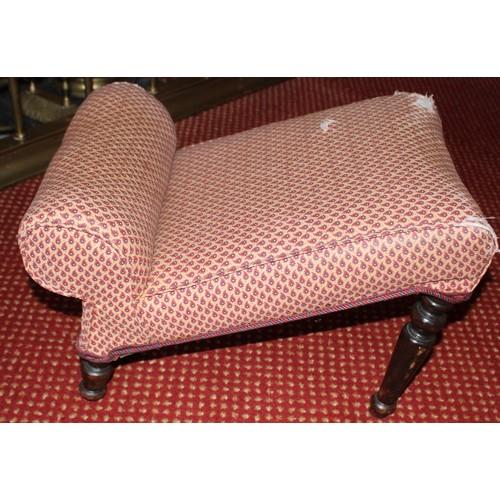 55 - Upholstered Foot Stool. 520mmW x 350mmD x 350mmH....