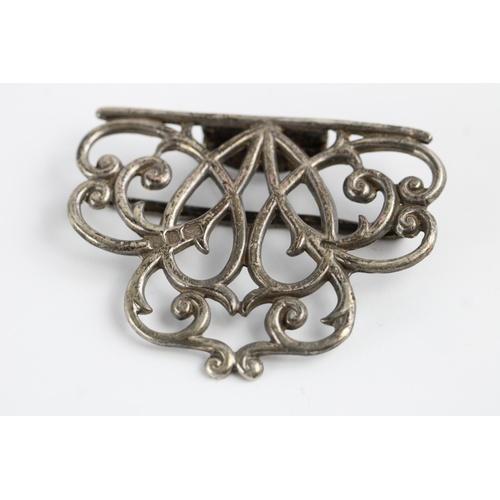 48 - Vintage sterling silver 1981 nurses buckle...
