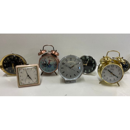 59 - Selection of alarm clocks, all untested...