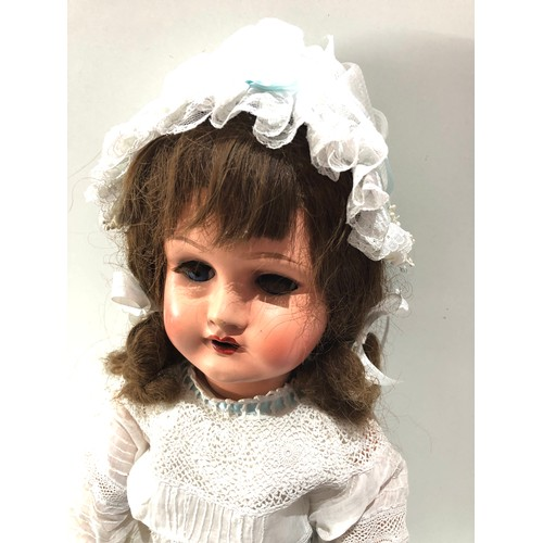50 - Large Antique / vintage comp head doll in good condition approx 28ins...