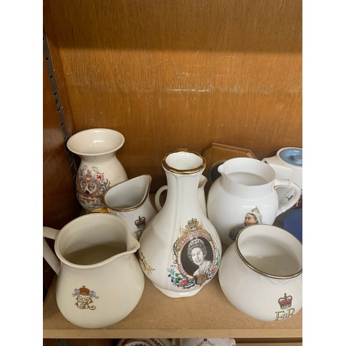 23 - Large selection of commemorative -ware...