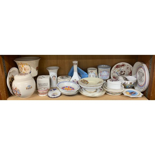 16 - Large selection of commemorative - ware,  all in good overall condition...
