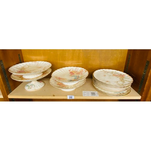 22 - Cake stands and plates...