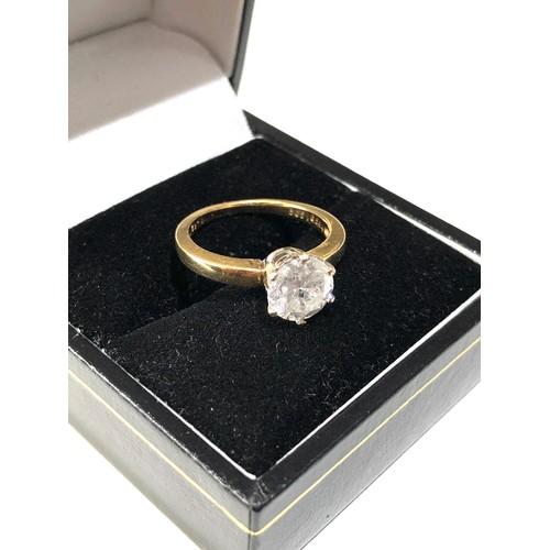 36 - 18ct gold diamond ring 1.45ct diamond...