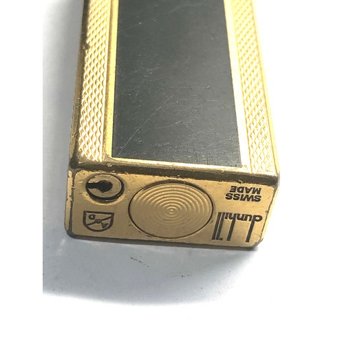 55 - Boxed Dunhill cigarette lighter used condition