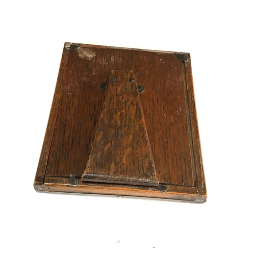 15 - George V silver rectangular easel photograph frame, 15cm high, William Neale, Birmingham 1915