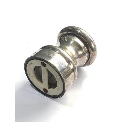 39 - Silver pepper grinder / mill london silver hallmarks