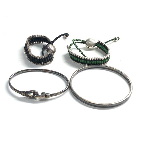 90 - Selection of links of london silver jewellery